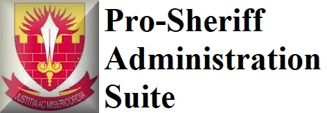 Pro-Sheriff Administration Suite